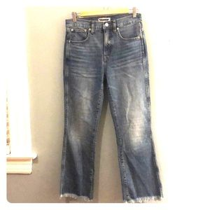 Madewell Cali Denim Bootcut Jeans